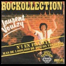 Discos de vinilo: XX VINILO, LAURENT VOULZY, ROCKOLLECTION (PARTE I Y PARTE II).. Lote 199169635