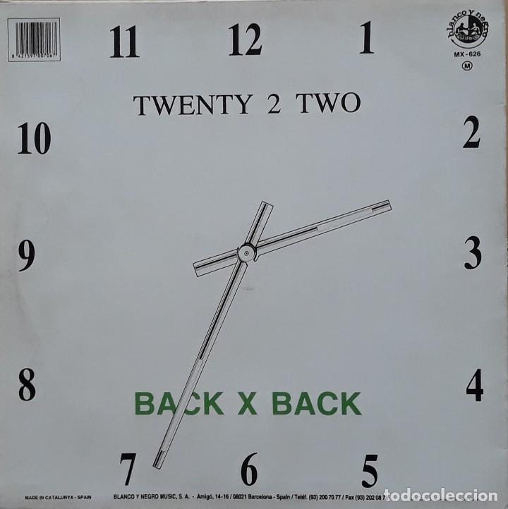 Discos de vinilo: TWENTY TO TWO - BACK FOR GOOD - Foto 2 - 199172775