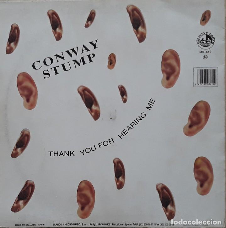 Discos de vinilo: CONWAY STUMP - THANK YOU FOR HEARING ME - Foto 2 - 199173808