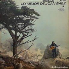 Discos de vinilo: LO MEJOR DE JOAN BAEZ. Lote 199174067