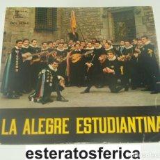 Disques de vinyle: TUNA DE LA FACULTAD DE MEDICINA DE BARCELONA: LA ALEGRE ESTUDIANTINA - REGAL, 1960. Lote 199174753