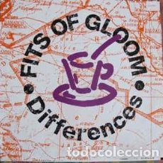 Discos de vinilo: FITS OF GLOOM - DIFFERENCES - 12 SINGLE - AÑO 1991. Lote 199178383