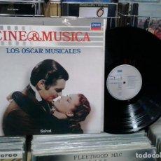 Discos de vinil: LMV - CINE & MÚSICA. LOS OSCAR MUSICALES -- LP. Lote 199183417