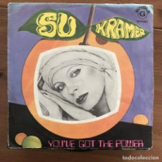 Discos de vinilo: SU KRAMER - YOU'VE GOT THE POWER - SINGLE DECCA PORTUGAL 1976. Lote 199187233