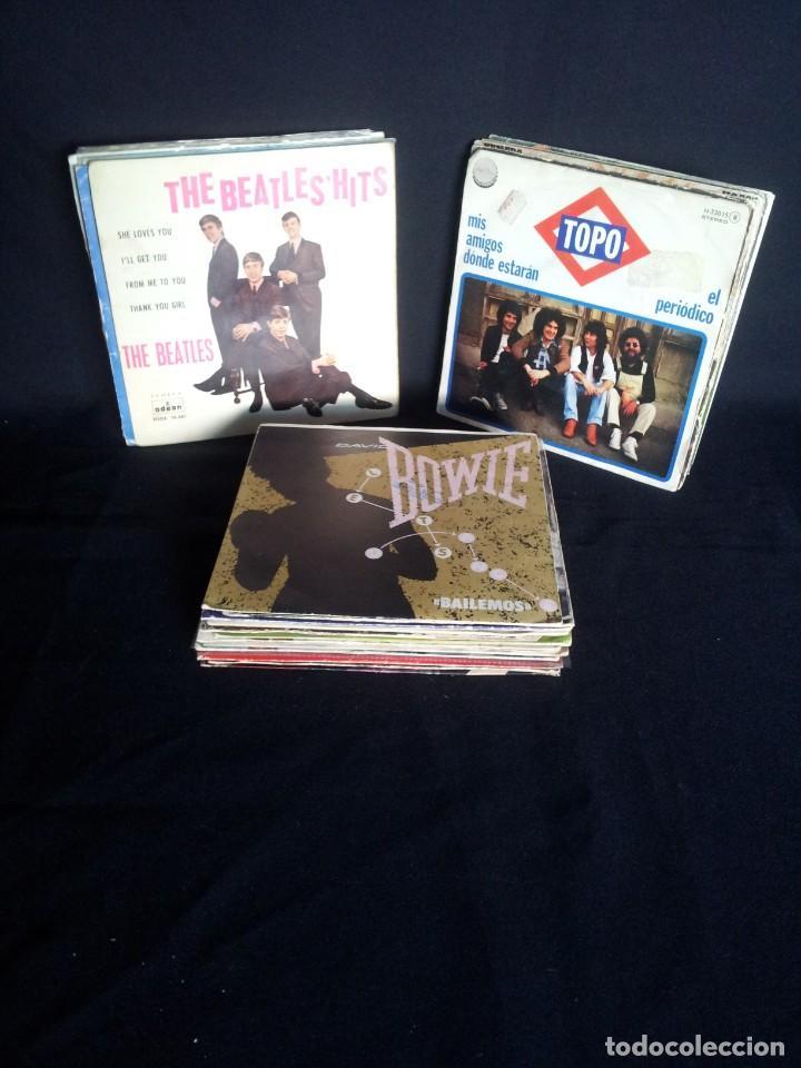 LOTE DE 37 SINGLES - VARIOS GENEROS DE MUSICA (Música - Discos - Singles Vinilo - Rock & Roll)