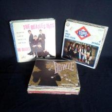 Discos de vinilo: LOTE DE 37 SINGLES - VARIOS GENEROS DE MUSICA. Lote 199188558
