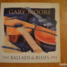 Discos de vinilo: GARY MOORE – BALLADS & BLUES 1982 - 1994 LP VINYL COMPLETO 7243 8 40054 1 2 VIRGIN – V 2768 UK. Lote 199191677
