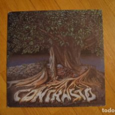 Discos de vinilo: CONTRASTO – CONTRASTO 1992 LP VINYL MISTER X PRODUZIONI – CR 96 ITALY. Lote 199195233