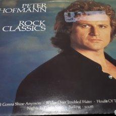 Discos de vinilo: PETER HOFMANN ROCK CLASSIC. Lote 199197698