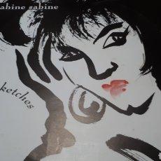 Discos de vinilo: SABUINE SABINE SKETCHES. Lote 199198423