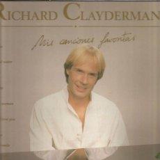 Disques de vinyle: CLAYDERMAN MIS CANCIONES FAVORITAS. Lote 199200123