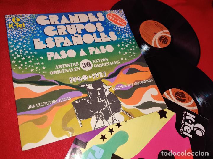 GRANDES GRUPOS ESPAÑOLES 1960-1977 2LP MAQUINA LONE STAR PASOS SMASH SALVAJES + POSTER!! (Música - Discos - LP Vinilo - Grupos Españoles 50 y 60)