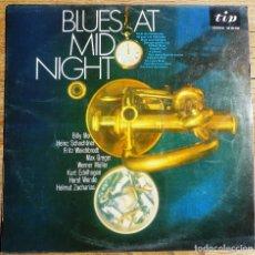 Discos de vinilo: BLUES AT MIDNIGHT - VARIOS - (SPAIN TIP RECORDS 1971). Lote 199203897