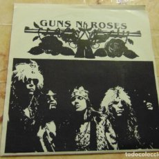 Discos de vinilo: GUNS'N'ROSES - DON'T CRY / SHADOW OF YOUR LOVE - RARO SINGLE DEMO 1988. Lote 199209380