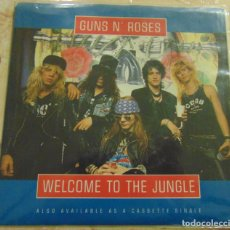 Discos de vinilo: GUNS N' ROSES – WELCOME TO THE JUNGLE - SINGLE US 1988. Lote 199209497