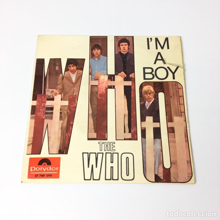 EP - THE WHO - I'M A BOY (ESPAÑA 1966) (Música - Discos de Vinilo - EPs - Pop - Rock Extranjero de los 50 y 60)