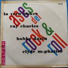 Discos de vinilo: ASES DEL ROCK & ROLL VOL. I (BELTER – 50.350) (D:VG+). Lote 199217608
