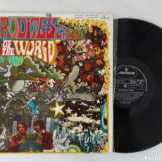 Discos de vinilo: APHRODITES CHILD END OF THE WORLD LP BUEN ESTADO DE CONSERVACION. Lote 199218118