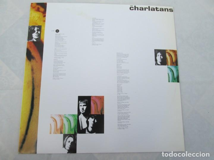 Discos de vinilo: THE CHARLATANS. BETWEEN 10TH AND 11TH. LP VINILO. BEGGARS BANQUET 1992. - Foto 3 - 199225031