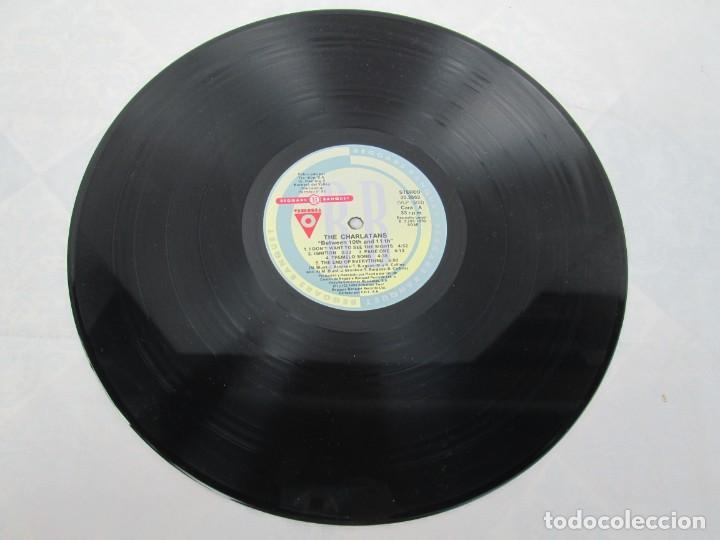 Discos de vinilo: THE CHARLATANS. BETWEEN 10TH AND 11TH. LP VINILO. BEGGARS BANQUET 1992. - Foto 7 - 199225031
