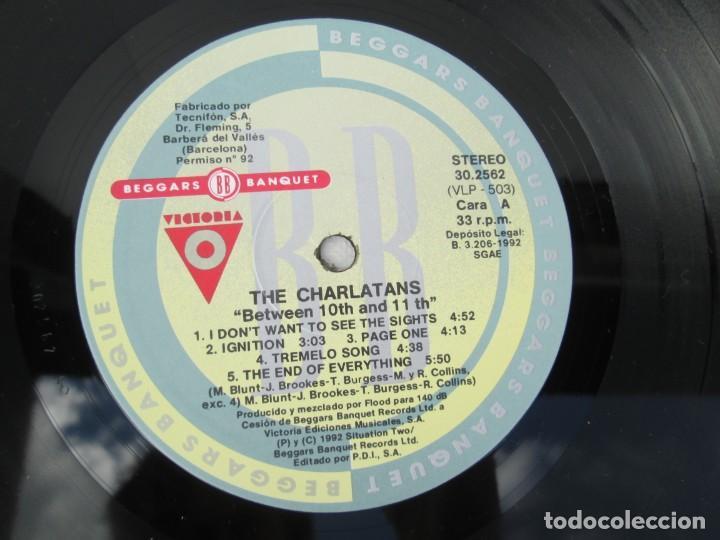 Discos de vinilo: THE CHARLATANS. BETWEEN 10TH AND 11TH. LP VINILO. BEGGARS BANQUET 1992. - Foto 8 - 199225031