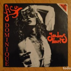 Discos de vinilo: LISA DOMINIQUE ‎– JEALOUS HEART 1988 MX VINYL 12 45 RPM DMM UK FM REVOLVER RECORDS ‎– 12 VHF 47 . Lote 199232940