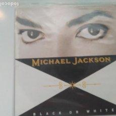 Dischi in vinile: SINGLE PROMO MICHAEL JACKSON. BLACK OR WHITE. EPIC 1991. PERFECTO ESTADO. Lote 199242981