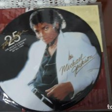 Discos de vinilo: MICHAEL JACKSON- THRILLER 25 ANNIVERSARY-THE WOLRD'S BIGGETS---- PICTURE DISC-LP. Lote 199251318