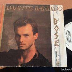 Discos de vinilo: MIGUEL BOSE (AMANTE BANDIDO) SINGLE ESPAÑA PROMO 1984 (EPI16). Lote 199252477