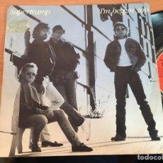 Discos de vinilo: SUPERTRAMP (I'M BEGGIN' YOU) SINGLE ESPAÑA 1987 (EPI16). Lote 199252575