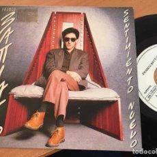 Discos de vinilo: FRANCO BATTIATO (SENTIMIENTO NUEVO) SINGLE ESPAÑA 1985 PROMO (EPI16). Lote 199253663