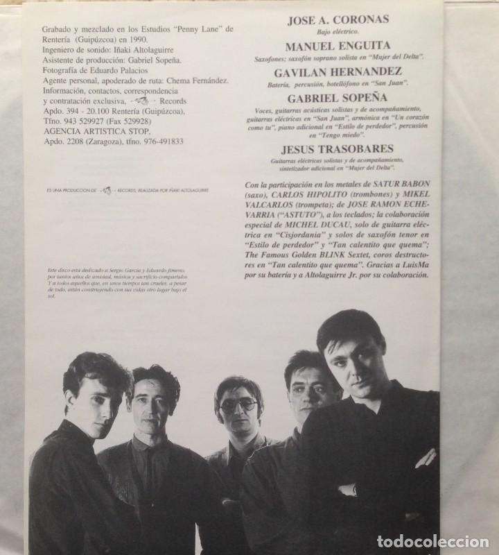 Discos de vinilo: El Frente - Otro lugar bajo el sol - LP - 1991 Es 3 Records - Edición Española - Foto 5 - 199258208