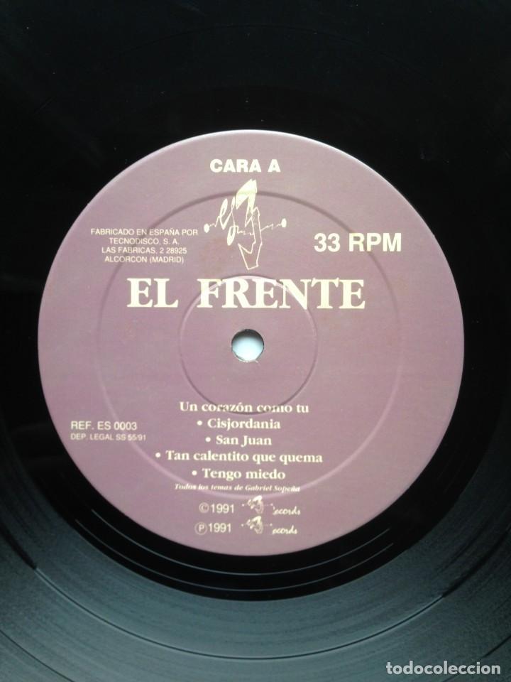 Discos de vinilo: El Frente - Otro lugar bajo el sol - LP - 1991 Es 3 Records - Edición Española - Foto 7 - 199258208