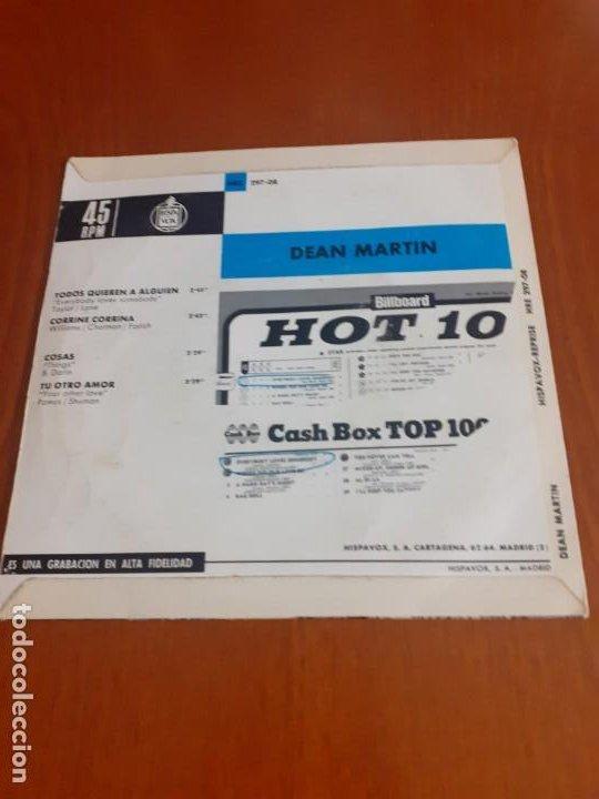 Discos de vinilo: Single Dean Martin Todos quieren a alguien - Foto 3 - 199260151