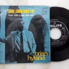 Discos de vinilo: BRIAN HYLAND EP CORRE CORRE MIRA Y VE +3 AÑOS 60. Lote 199262097