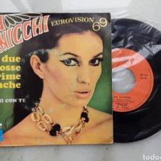 Discos de vinilo: IVA ZANICCHI EUROVISION 69. Lote 199262163
