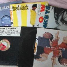 Discos de vinilo: LOTE 5 DISCOS MAXI SINGLE VINYL. Lote 199270162