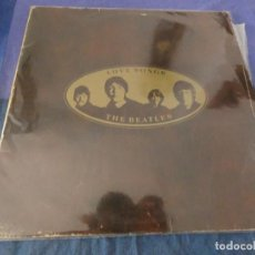 Discos de vinilo: LP DOBLE ESPAÑOL THE BEATLES LOVE SONGS, MUY LEVES SEÑALES DE USO EN PORTADA Y DISCOS ACEPTABLE. Lote 199272542