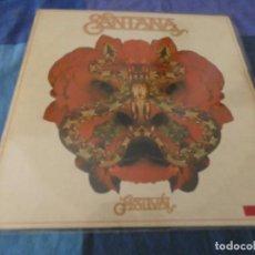 Discos de vinil: LP ESPAÑOL SANTANA FESTIVAL 1977 MUY BUEN ESTADO TIENE UN RECORTE EN EL ENCARTE. Lote 199272738