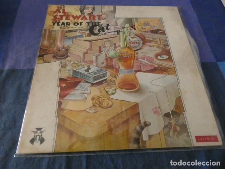 LP ESPAÑOL 1976 AL STEWART THE YEAR OF THE CAT CORRECTO GATEFOLD (Música - Discos de Vinilo - EPs - Pop - Rock Internacional de los 70)