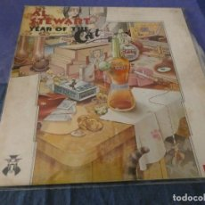 Discos de vinilo: LP ESPAÑOL 1976 AL STEWART THE YEAR OF THE CAT CORRECTO GATEFOLD . Lote 199274796