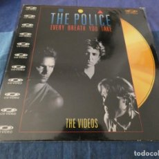 Discos de vinilo: RARO ARTEFACTO CD VIDEO EVERY BREATH YOU TAKE THE POLICE AÑO 1992 PARECE EN BUEN ESTADO. Lote 199275238