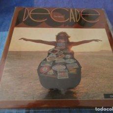 Discos de vinilo: TRIPLE LP ESPAÑOL NEIL YOUNG DECADE EXTERIOR Y DISCOS MUY BIEN, CARPETA INTERMEDIA CON UN RECORTE. Lote 199278520