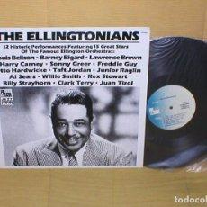 Discos de vinilo: THE ELLINGTONIANS USA IMPORTACION LP 12 HISTORIC PERFORMANCES JAZZ SWING PAUSA RECORDS RARO !!. Lote 199280892