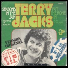 Disques de vinyle: XX VINILO, TERRY JACKS, SEASONS IN THE SUN Y PUT THE BONE IN.. Lote 199281192