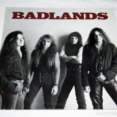 Discos de vinilo: LP BADLANDS - BADLANDS. Lote 199304212