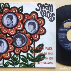 Discos de vinilo: SMALL FACES - EP SPAIN PS - EX * PROMO * ITCHYCOO PARK / HERE COME THE NICE / TALK TO YOU + 1. Lote 199309163