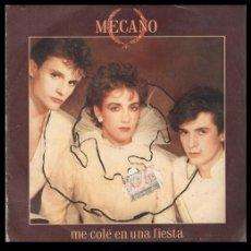 Discos de vinil: XX VINILO, MECANO, ME COLE EN UNA FIESTA Y BODA EN LONDRES.. Lote 199338478