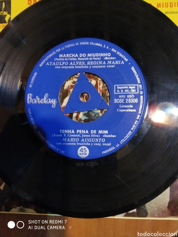 Discos de vinilo: Brigitte Bardot. Tenna pena de mim.+ 3 es un EP - Foto 2 - 199340410
