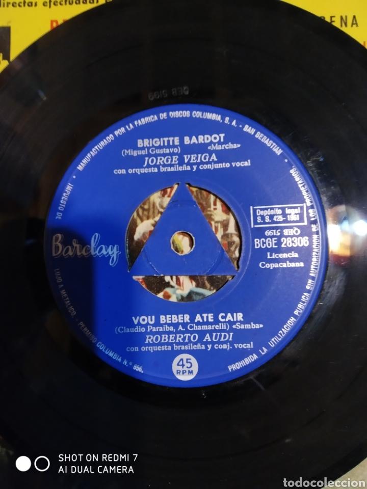 Discos de vinilo: Brigitte Bardot. Tenna pena de mim.+ 3 es un EP - Foto 3 - 199340410